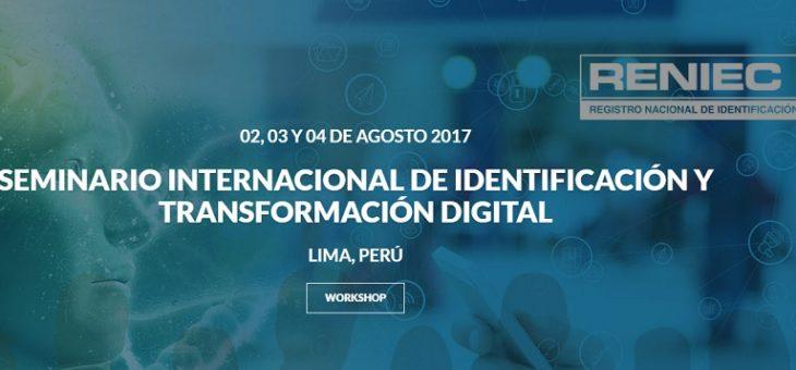 Seminario Internacional de Identificación y Transformación Digital